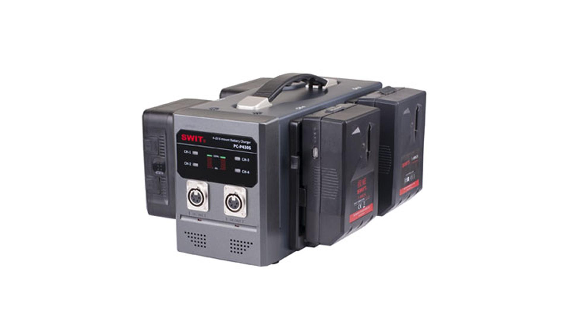 PC-P430S_Swit_Caricabatterie Swit quadruplo per batterie V-lock