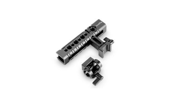 SmallRig 2027   Maniglia forata SmallRig 2027 per cage con attacco NATO e clamp per canne standard 15 mm   Maniglie