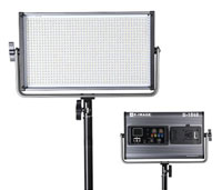 Luce LED E-1040 bicolore per illuminare video set o green screen