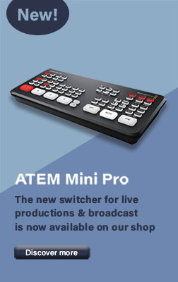 ATEM Mini Pro switcher for streaming